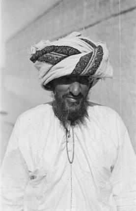Half length portrait of Yasir ...