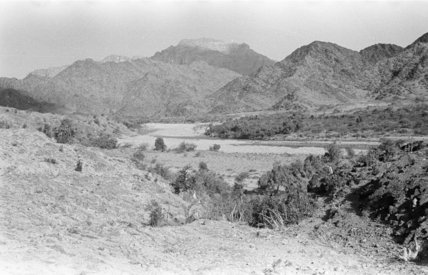 Mountain landscape at Jallat al ...
