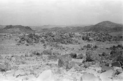 View of landscape near the ...