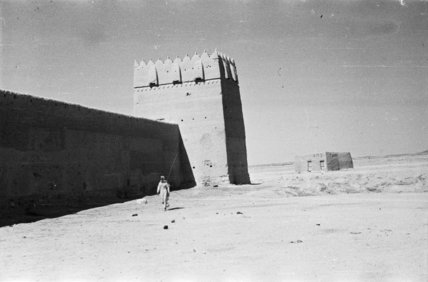 View of a large fort ...