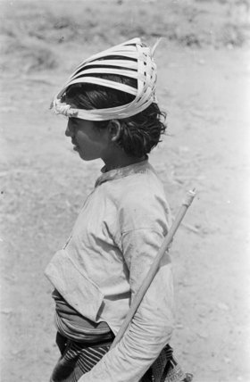 Portrait of a boy at ...