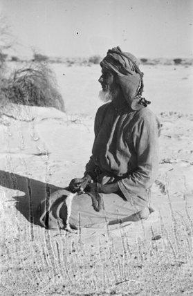 Portrait of Masa'ud, a member ...