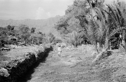Landscape at Harub village.  ...