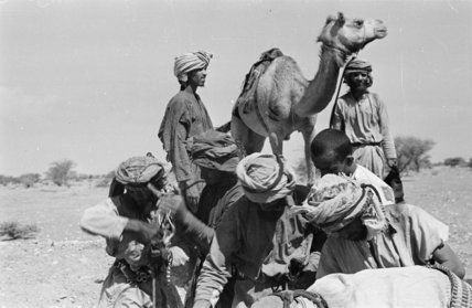 Portrait of Wilfred Thesiger's travelling ...