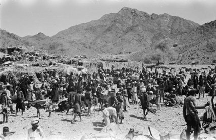 View of Khawlan Bedouin at ...