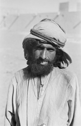 Half length portrait of Muhammad ...