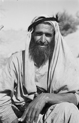 Close up portrait of tribesman ...