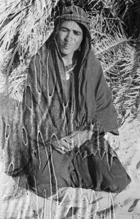 Portrait of Nura, a woman ...