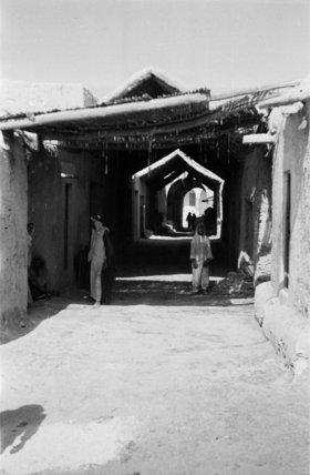View of two Arab men ...