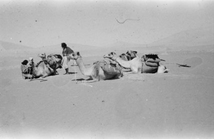View of Bedouin men in ...