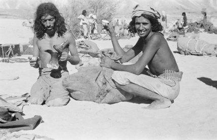 Portrait of two tribesmen of ...