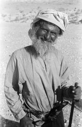 Portrait of an older man ...