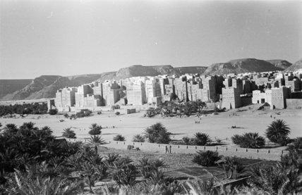 View of Shibam.   ...