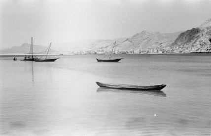 View of moored boats in ...