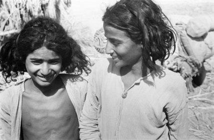 Portrait of two boys in ...
