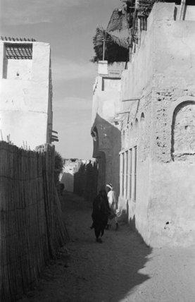 View of a woman walking ...