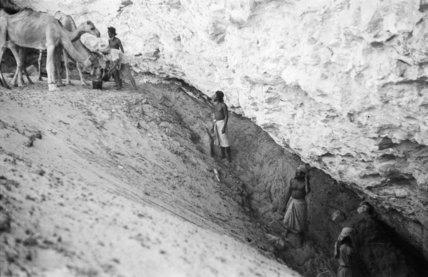 View of Bedouin men in ...