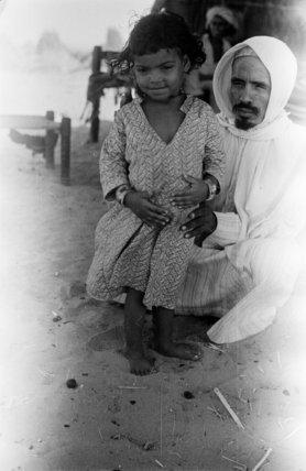 Portrait of an Arab man ...