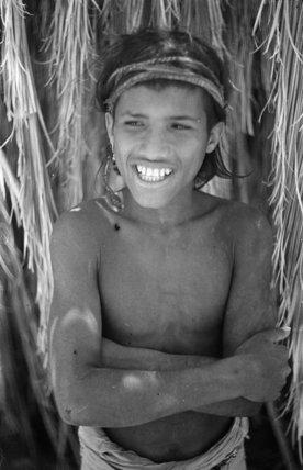 Portrait of a boy of ...