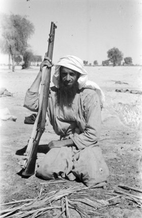 Portrait of an Omani man ...