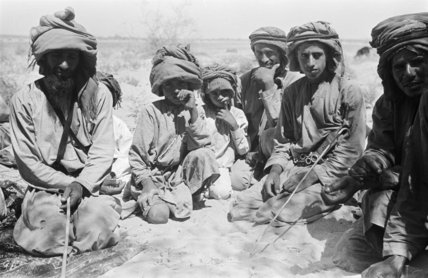 Seated group portrait of Wahiba ...
