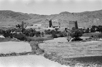 View of a village in ...