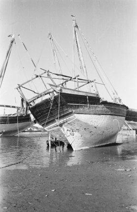 View of the stern of ...