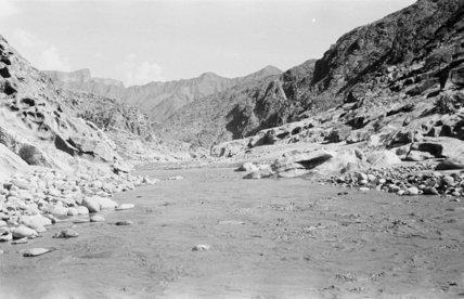 Wadi Baysh in flood in ...
