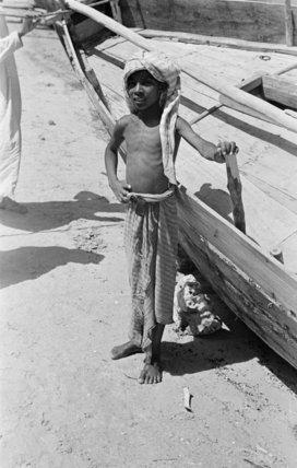 Portrait of a small boy ...