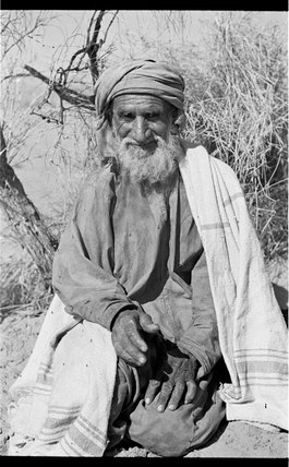 Seated portrait of an Arab ...