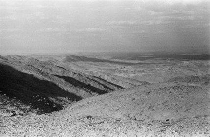 View of a mountain range ...