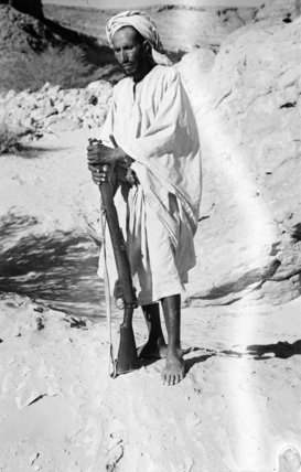 Standing portrait of Awad bin ...