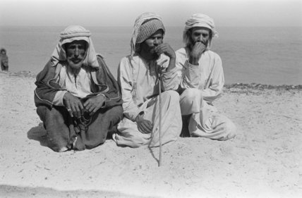 Group portrait of three of ...