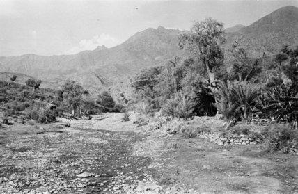 Mountain landscape at Harub village ...