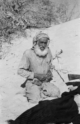 Portrait of a elderly tribesman ...