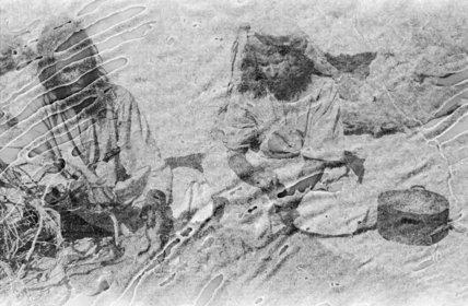 Portrait of two Rashid tribesmen ...