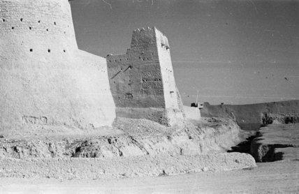 View of Qasr Ibrahim fort ...
