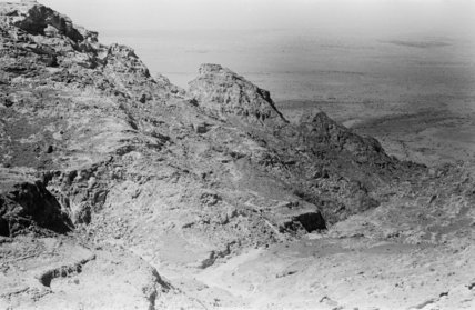 View of a high ridge ...
