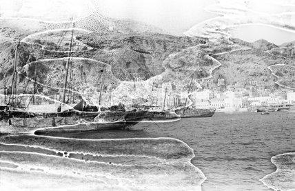 The harbour at Al Mukalla. ...