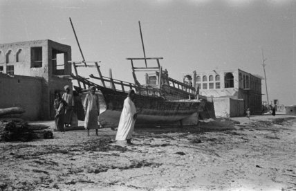 View of a two dhows ...