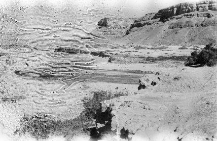 A wadi at Fughmah.  ...
