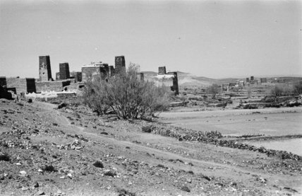 View of tower houses at ...