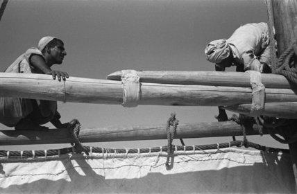 Portrait of two Arab sailors ...