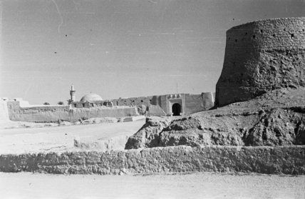 View of Qasr Ibrahim fort ...
