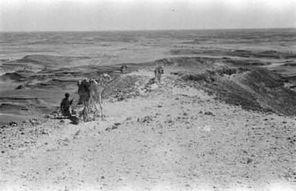 Desert landscape in the Shib ...