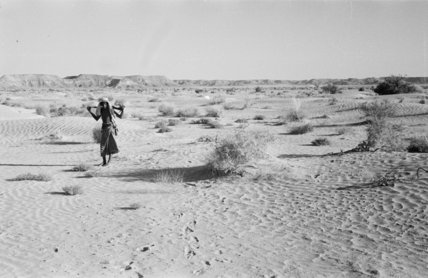 View of a Bedouin man ...