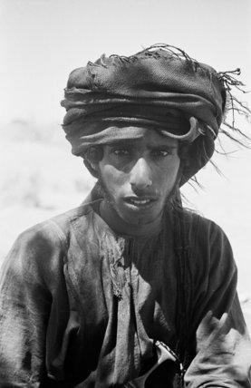 Close up portrait of Salim ...