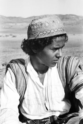 Close up portrait of Mabarak ...
