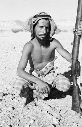Portrait of Said bin Musallim ...