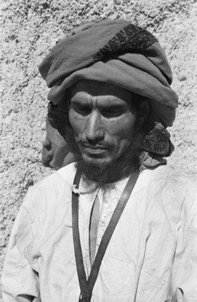 Close up portrait of Musallim ...